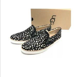 UGG Soleda Exotic Sneaker Sz 7 Calf Hair *NWOT*